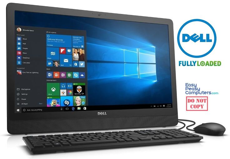 cheap computers dell new all in one #cheapcomputers #computer