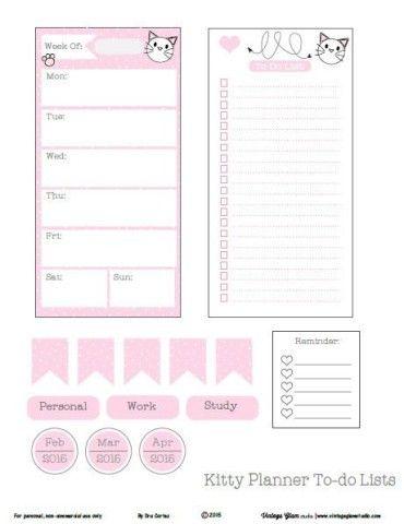 Organización: Listas Imprimibles