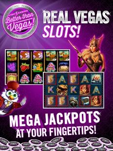 High 5 Casino is a FREE social casino and the premier mobile destination to exclusively play the largest portfolio of REAL Vegas slots and slots tournaments. Experience the thrill of real slot gaming from your mobile device on High 5 Casino! With a 4+ star rating and over 10 million downloads, High 5 Casino brings the casino floor to your mobile device.  https://play.google.com/store/apps/details?id=com.h5g.high5casino #Casino #Android #Games