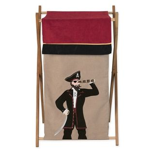 Shop for Sweet Jojo Designs Pirate Treasure Cove Collection Laundry Hamper. Ships To Canada at Overstock.ca - Your Online Baby Furniture Shop!  - 19221617