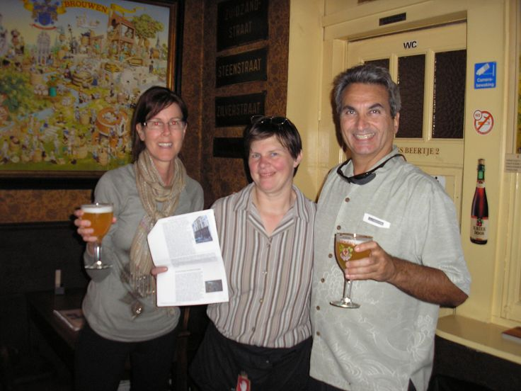 with DaisyClaeys owner of 't Brugs Beertje