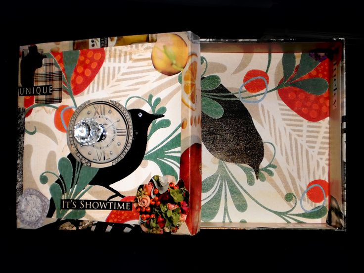 Decoupaged Handcrafted Memory Box €28.00
