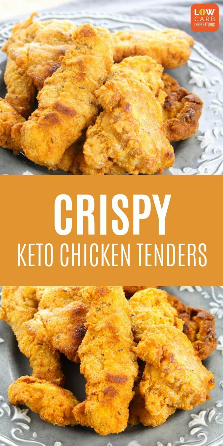 Knusprige Keto Chicken Tenders