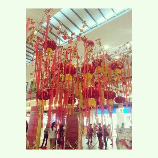 Kung hei fat choi #chinese #lunar #newyear #laterns #angpao #red #tree