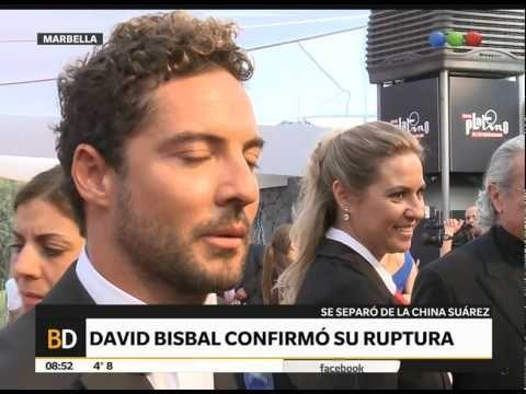 David Bisbal habló de su relación con la China Suárez - Telefe Noticias