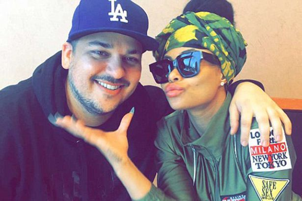 Rob Kardashian admits he DROPPED his family for girlfriend Blac Chyna in shock post