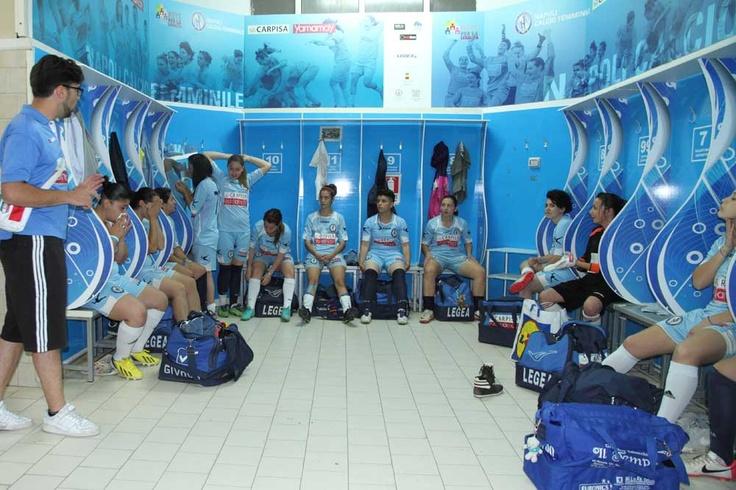 Pro Calcio Donne - Spogliatoio Carpisa Napoli