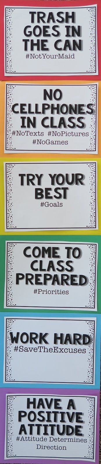 By the time my students reached 5th grade, they have seen all the classroom rules before. My first 2 years in 5th grade, I did the same thin...