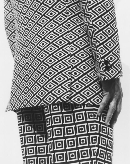 Versace Suit - Detail, Milan, 1991, by Herb Ritts