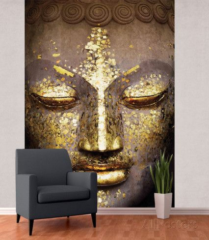 1000 ideas about buddha wall art on pinterest chanel for Buddha mural art