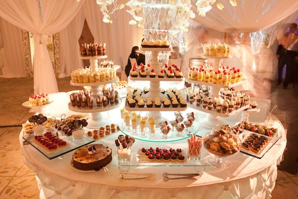Would love a dessert station at my wedding!
