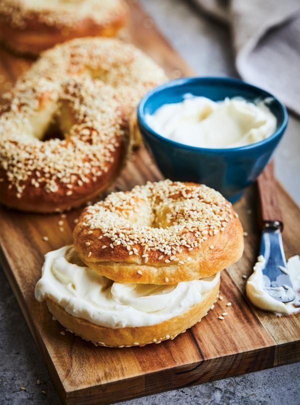 Bagels au sésame #ricardocuisine #breakfast