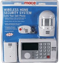 Mace Home Security Alarm System Wireless