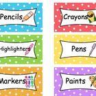 Free labels for classroom organization. :D ENJOY!...