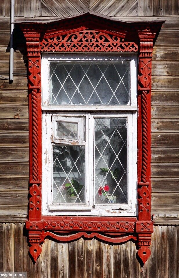 Kimry, Tver Oblast, Russia. Decorative ...