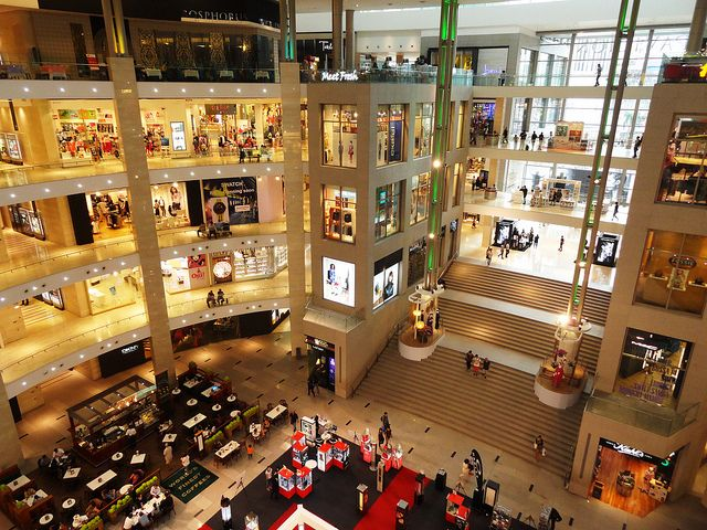 Pavilion, Bukit Bintang, Kuala Lumpur  The Pavilion is the best shopping mall in Kuala Lumpur.