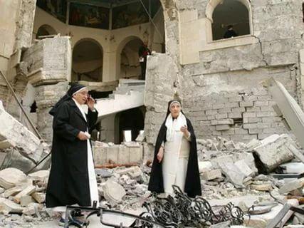 (Гл 7) На Ближнем Востоке разрушены сотни древних христианских церквей