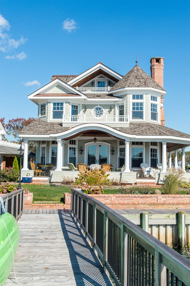 Victorian style house exterior victorian with three story house curved roof masonry chimney cedar shake