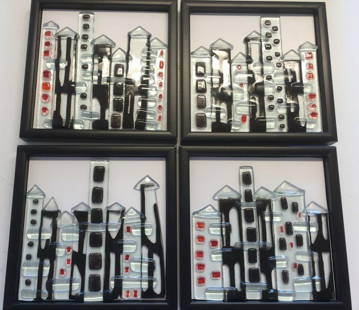 Float glass houses