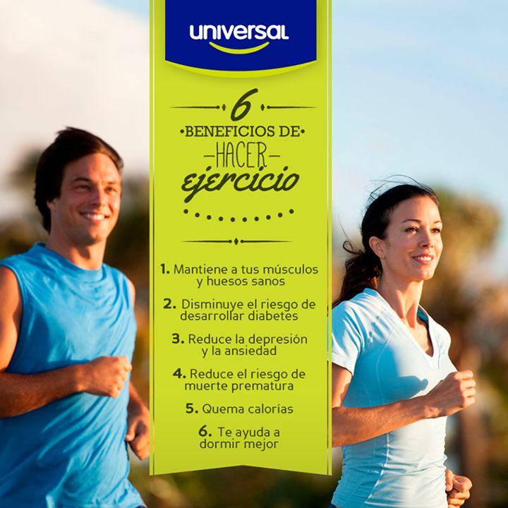 6 beneficios de hacer ejercicio 1. Mantiene a tus músculos