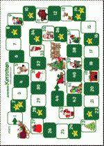 Ganzenbord Kerst - Spelbord