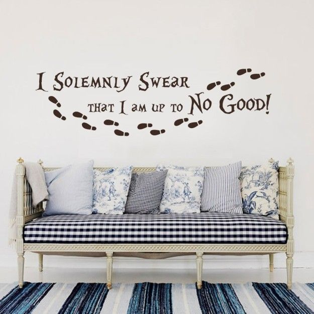 And how about this wall decal? | Community Post: 23 Things You Need For A Magical Harry Potter Dorm Room