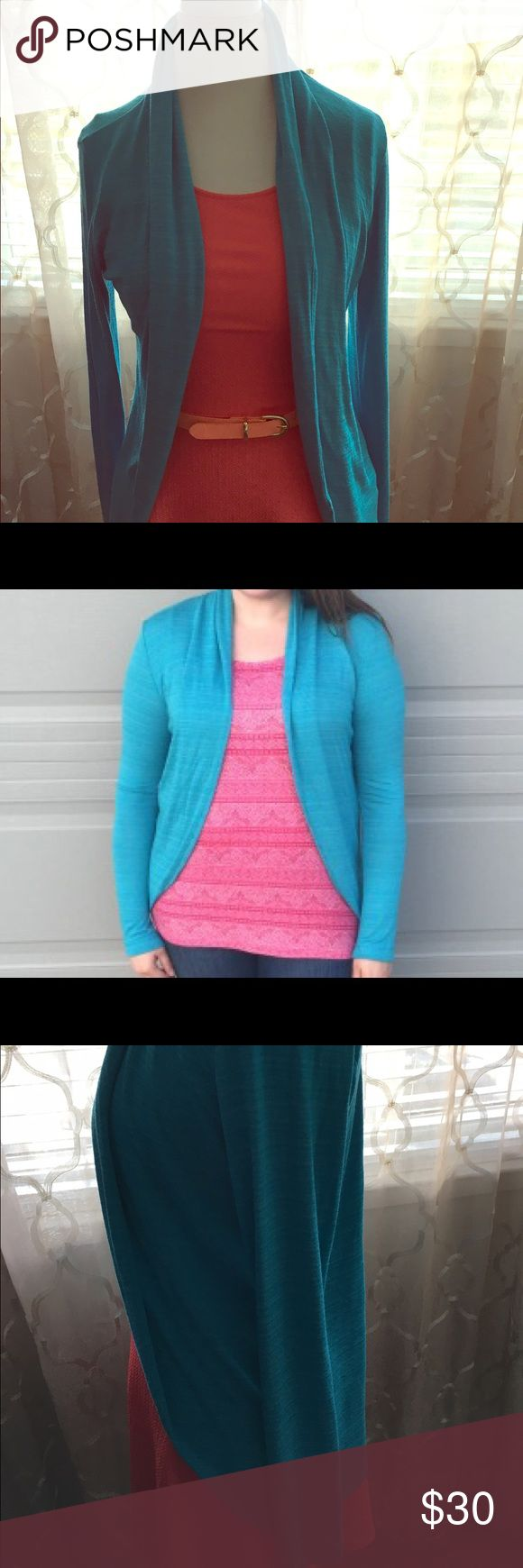 Laila Jayde Turquoise cardigan It's brand new without tags. It retails for $48 at Nordstrom Rack laila jayde Sweaters Cardigans