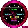 voice pc analog desktop clock