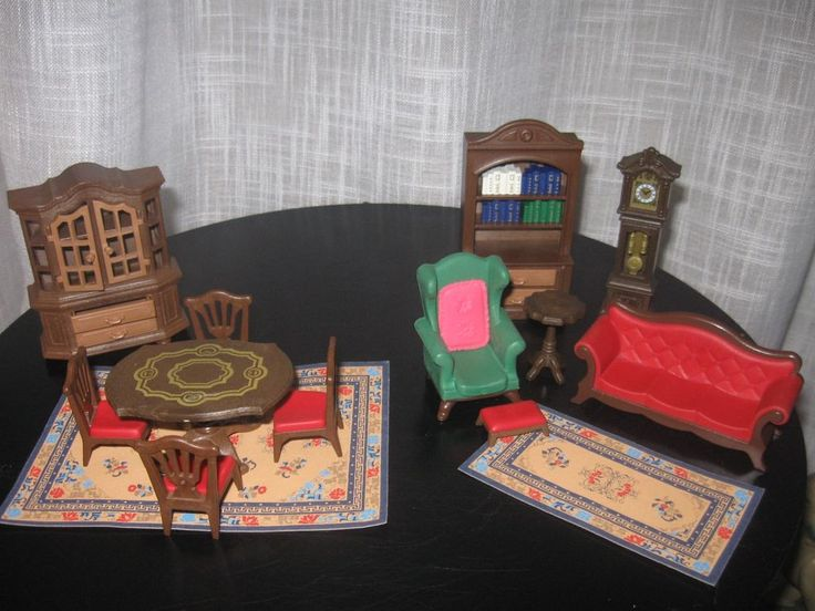 Playmobil victorian living room dining room 5320 mansion for Playmobil dining room 5335