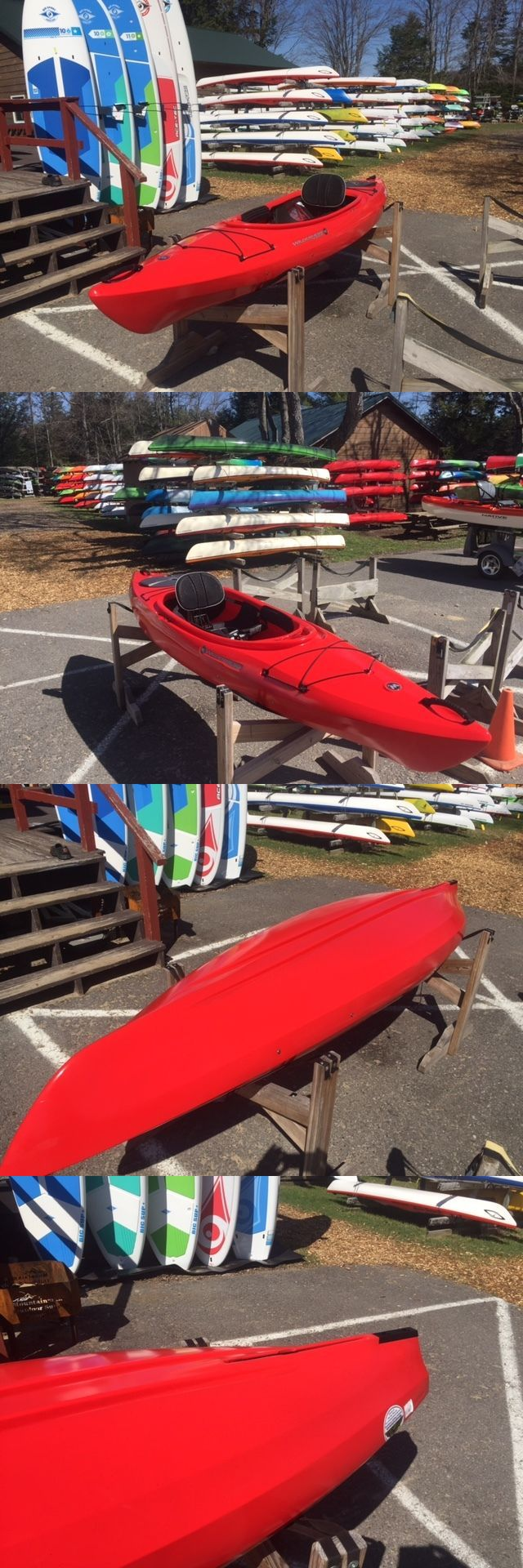 Kayaks 36122: Wilderness Systems Aspire 105 Kayak - Red Closeout Kayak - New -> BUY IT NOW ONLY: $623.2 on eBay!