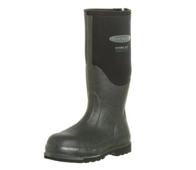 Muck Boot Arctic Adult Chore All Condition Hi Steel Toe Rubber Work Boots Black M14 US