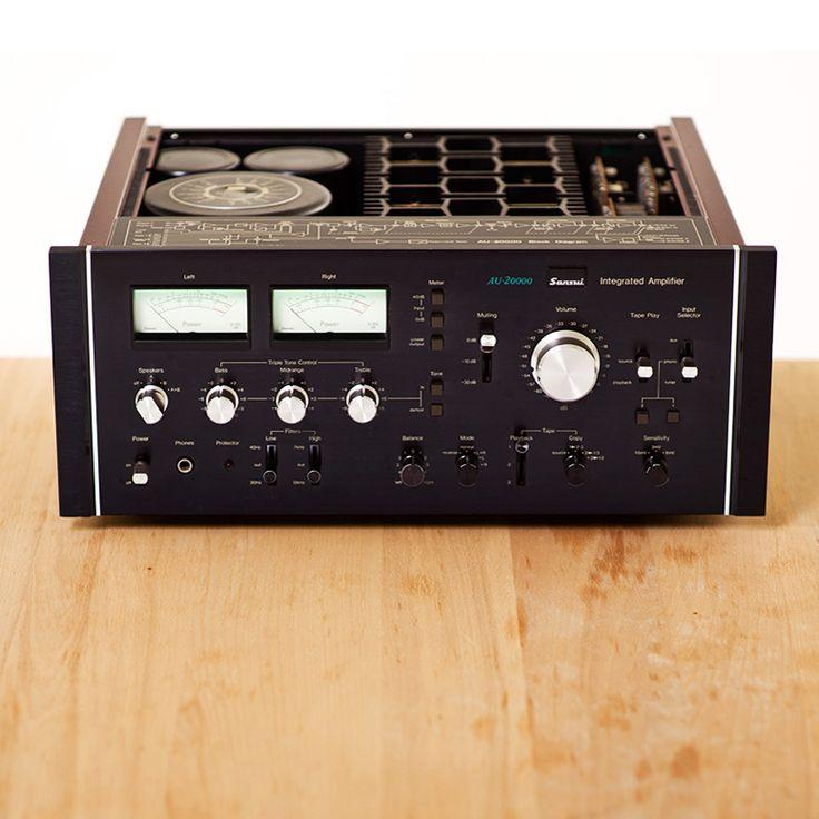 VINTAGE SANSUI INTEGRATED AMP & TUNER