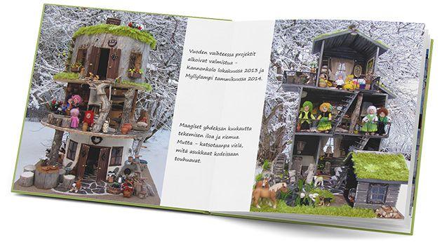 Ifolorkirjailijat: Harrastuksesta kuvakirja. Selaa nukketalo-harrastuksesta tehtyä upeaa kuvakirjaa: http://www.ifolor.fi/inspire_harrastuksesta_kuvakirja