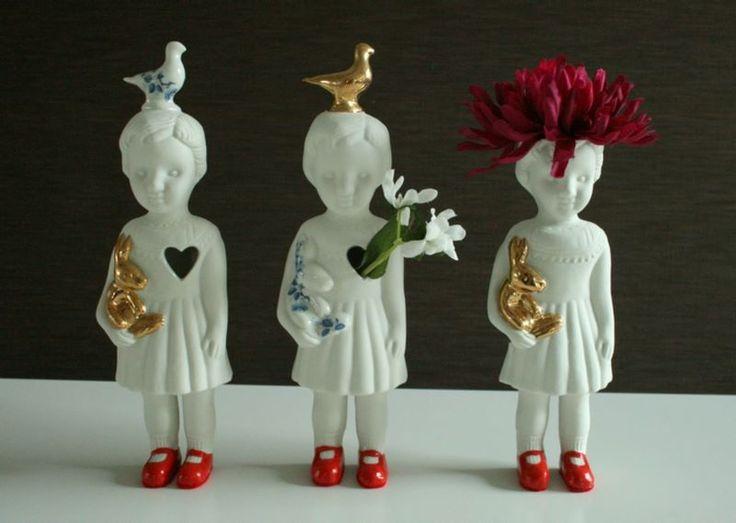 WIN! Een bijzonder porseleinen beeldvaasje - Nieuws - ShowHome.nl !!! uit onze collectie #studiodewinkel.nl