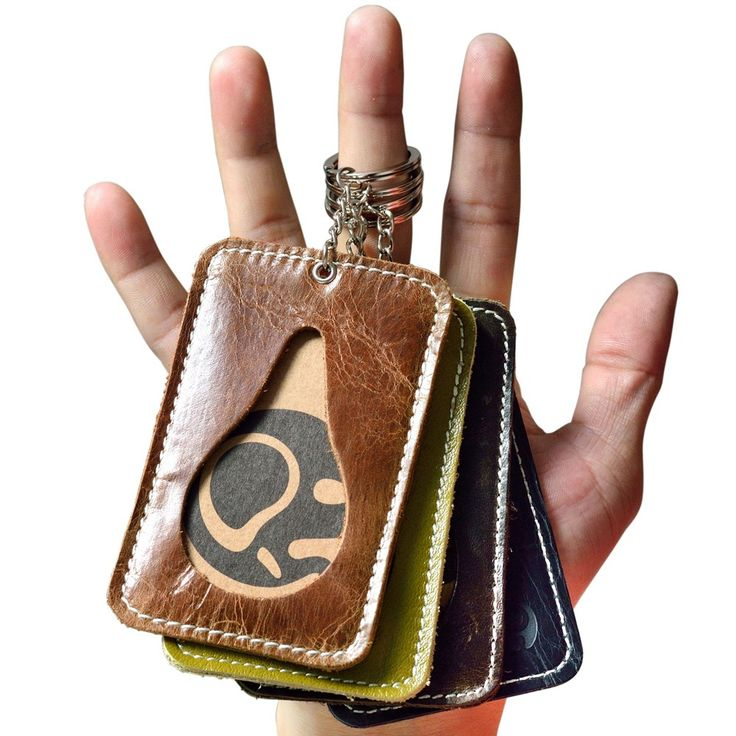 Quente Caso do Cartão de Visita Titulares Nome Do Cartão de Crédito Titulares de Cartão de Crédito Do Banco de Couro Genuíno Titulares Ônibus Titulares ID Emblema de Identidade