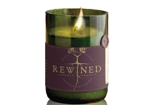 Charming Rewined Candles Are Made Out of Real Repurposed Wine Bottles   Inhabitat - Sustainable Design Innovation
