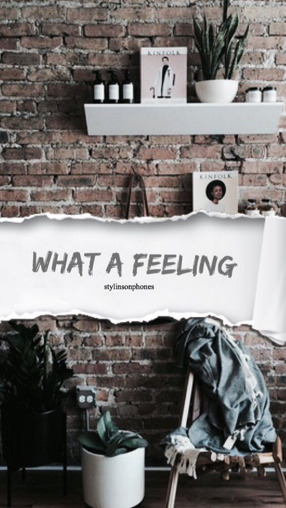 What A Feeling | @stylinsonphones