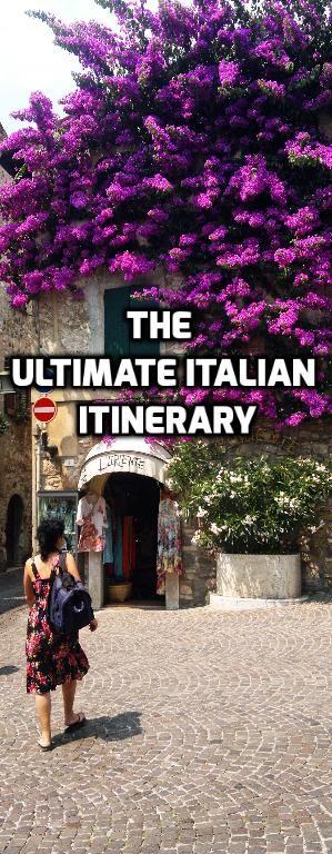 The ultimate Italian vacation available on http://www.miomyitaly.com/italian-itinerary.html