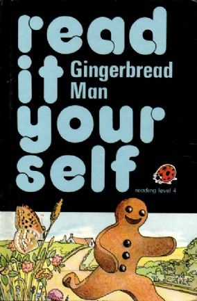 GINGERBREAD MAN Ladybird Book Series 777 Read It Yourself