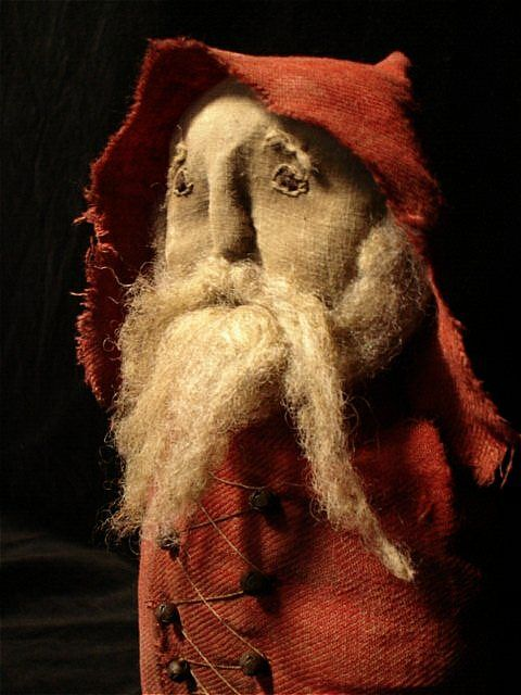 After he got stuck in the chimney that last time, Santa never was the same again....