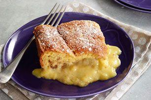 Double-Banana Pudding Cake Recipe - Kraft Recipes