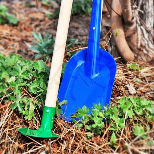 Childrens Gardening Tools | Childs Garden Shovel | Childs Garden Rake | Childs Garden Hoe