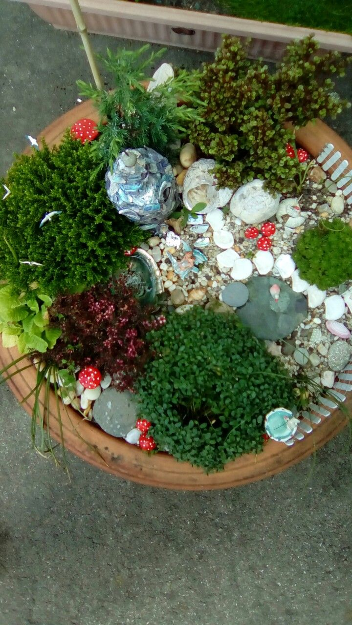 Home made Fairy Garden