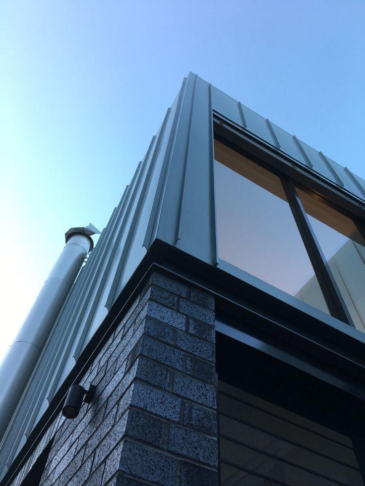 #Rheinzinc cladding by Craftmetals on POC+P architects