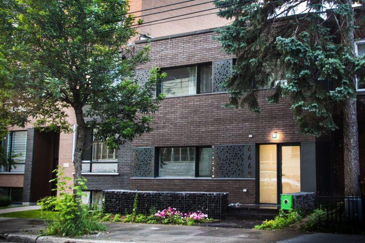 Residence M | Fugère architecture - Maison de ville/ urban house, Mile-end, Montreal