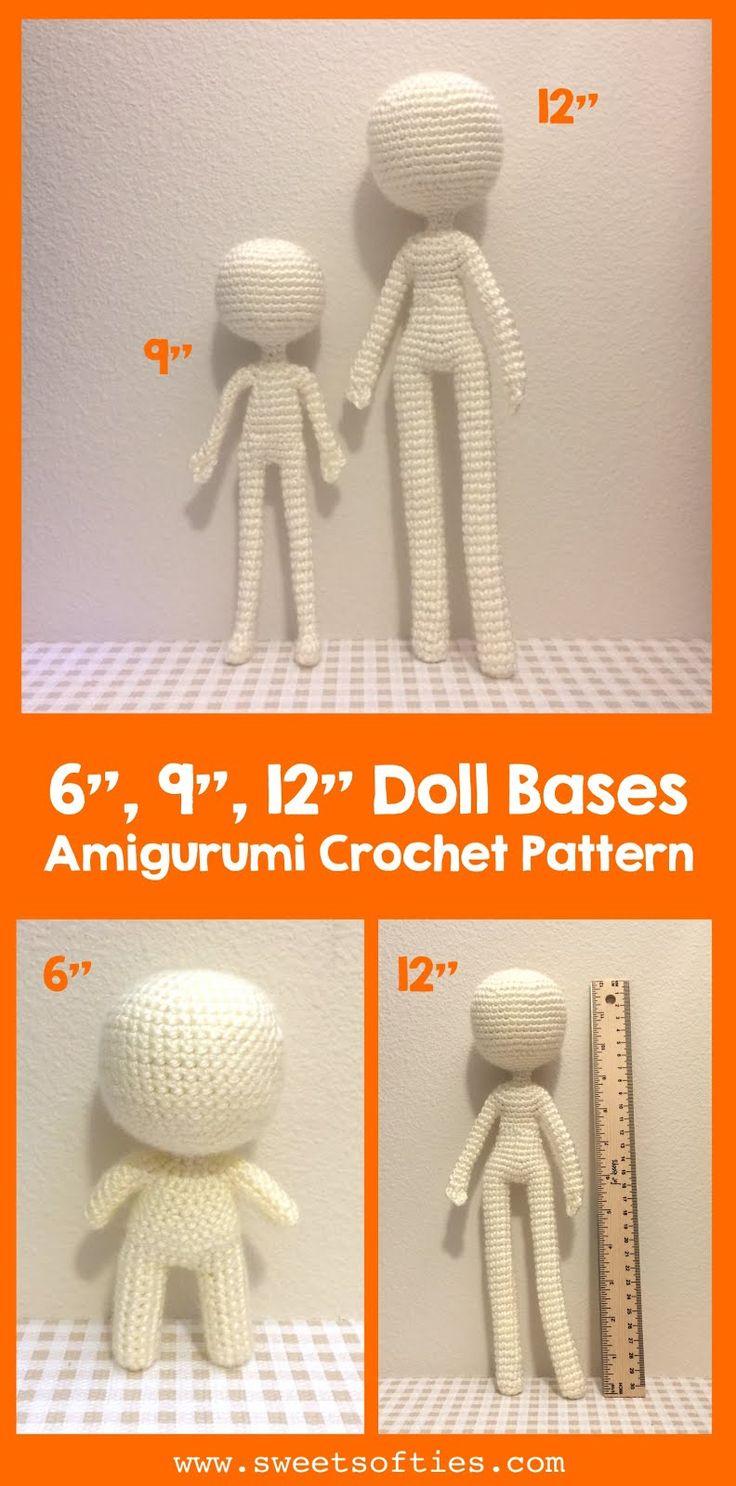 Doll Base Family: 6″, 9″, 12″