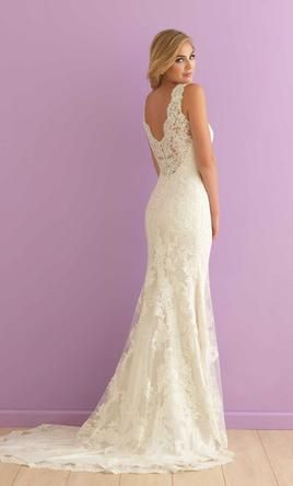 Allure Bridals 2901 wedding dress currently for sale at 44% off retail.