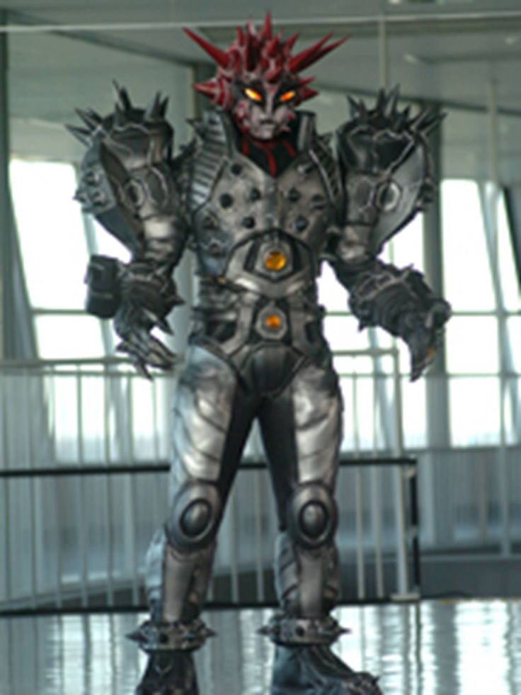 I searched for power rangers spd spiketor images on Bing and found this from http://powerrangers.wikia.com/wiki/Gedonian_Uniga