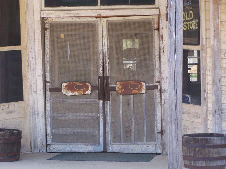 16 Best Antique Vintage Advertising Screen Doors Door Push