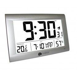 Reloj Mural con Termómetro e Higrómetro La Crosse WS8009